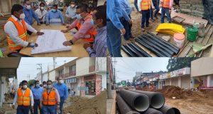 """Avanza la rehabilitación integral de la avenida """"Independencia"""" en Tuxtepec"""