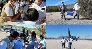 Llega a Oaxaca nueva remesa de vacunas anti-COVID-19