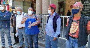 Acusan a edil de San Jerónimo Sosola, de mal uso de recursos para obra de pavimentación