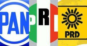 Coalición PRI- PAN- PRD van juntos en 73% del país