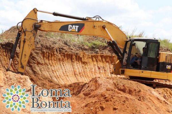 Cumpliendo un compromiso más en colonias y comunidades de Loma Bonita