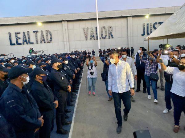 Oaxaca cuenta con sus policías: Alejandro Murat