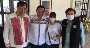 Analizan PT y PVEM ir en candidaturas comunes en Oaxaca