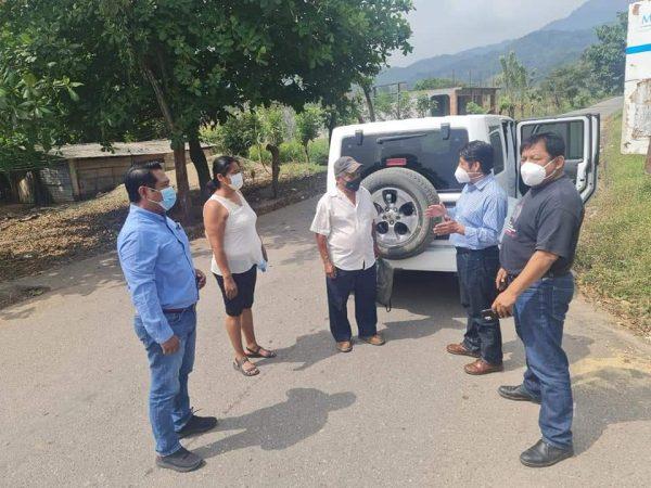 Anuncia Rey Magaña 5 kilómetros de carretera para conectar a Valle Nacional con Usila