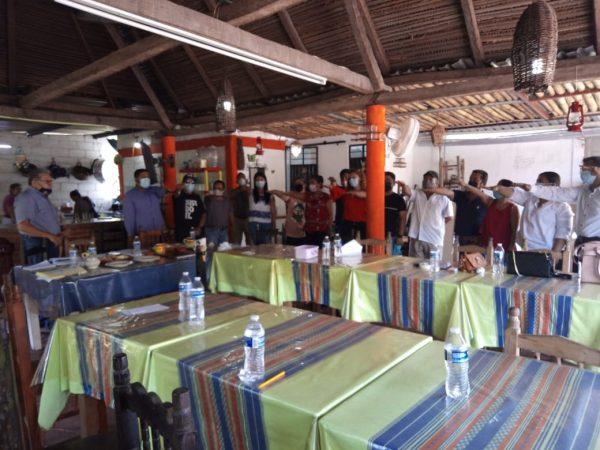 Nueva dirigencia sindical del INPI en Tuxtepec, gestionará construcción de oficinas
