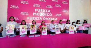 Fuerza por México dará 9 de diez candidaturas a diputaciones federales a mujeres en Oaxaca