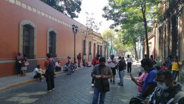 Habitantes de Oaxaca de Juárez denuncian abandono del edil, no cuentan con servicios básicos señalan