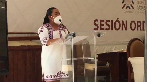 Ante el Congreso Diputada Arcelia López denuncia ser víctima de violencia política en razón de género