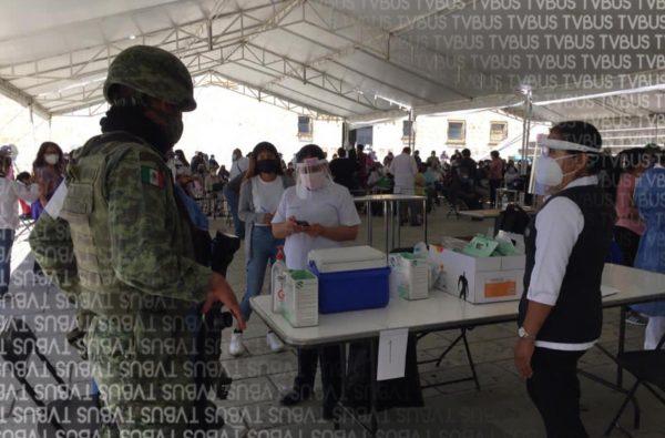 Antes de tiempo se terminan vacunas contra Covid en Oaxaca de Juárez