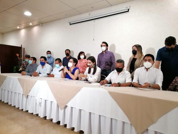 Candidatura común de Villacaña no representa la fuerza política del PAN en Oaxaca de Juárez