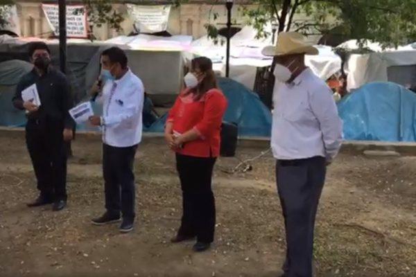 En Morena se conservan mismos vicios que en el PRD en selección de candidatos para Oaxaca, denuncian aspirantes