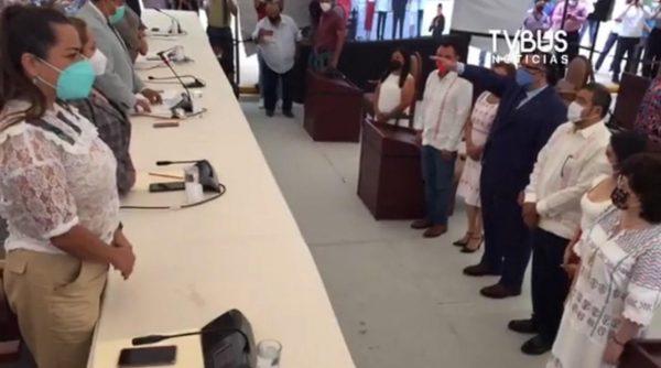 Con 33 votos a favor, Arturo Peimbert Calvo es el nuevo Fiscal de Oaxaca