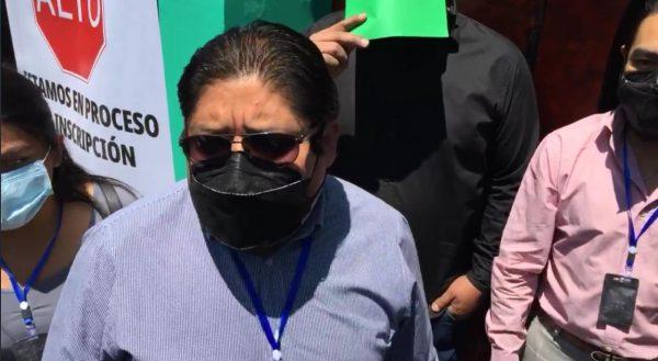 Eduardo Reyes logra registro como candidato del Partido Verde a la presidencia de Oaxaca de Juárez