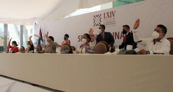 Llama Congreso a un pacto de civilidad frente a los comicios electorales en Oaxaca