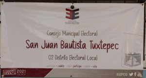 Proceso electoral en Tuxtepec lleva más del 70% de avance: IEEPCO