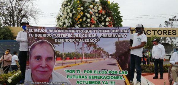 La mejor forma de honrar a Francisco Fernández Arteaga es cuidar su legado: Ambientalistas de Tuxtepec