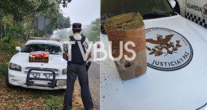 En operativo Guardia Nacional asegura paquete de marihuana en Oaxaca