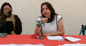Elena Tejeda señala a Sesul Bolaños, de excluir a mujeres de las candidaturas en Oaxaca