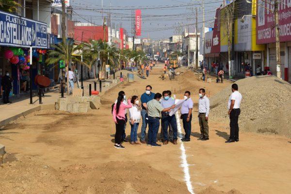 """Avance del 70% en rehabilitación integral de la avenida """"Independencia"""": Presidente Municipal"""