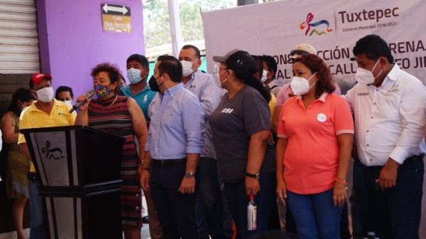 Nuevo drenaje pluvial en centro de Tuxtepec, evitará inundaciones y perdidas económicas