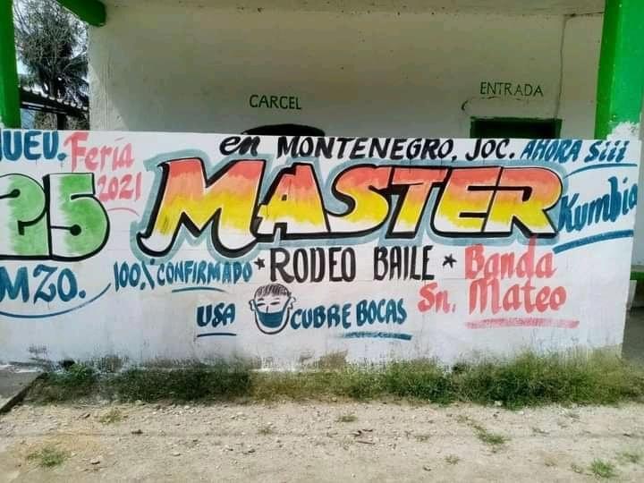 Jocotepec en la Cuenca, prepara baile en pandemia; edil murió de Covid en agosto
