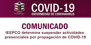 Solicita Congreso al IEEPCO protocolos contra la Covid-19 durante el proceso electoral
