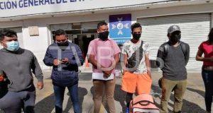 Tras accidente, repartidores de comida exigen destitución de Director de la Policía Vial Estatal