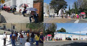 Desinformación y mala logística para iniciar aplicación de vacuna anti Covid en la capital oaxaqueña