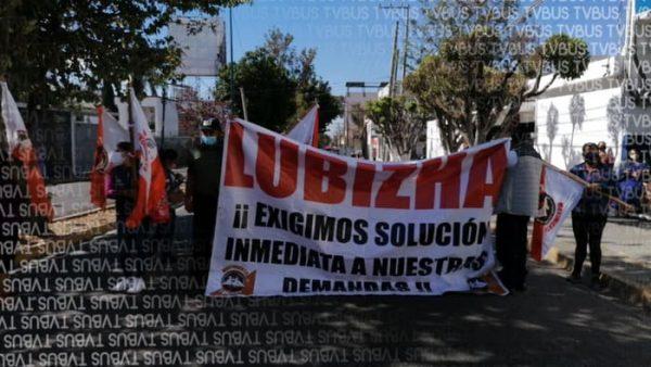 Lubizha se manifiesta en Oaxaca, exigen respuesta a sus demandas