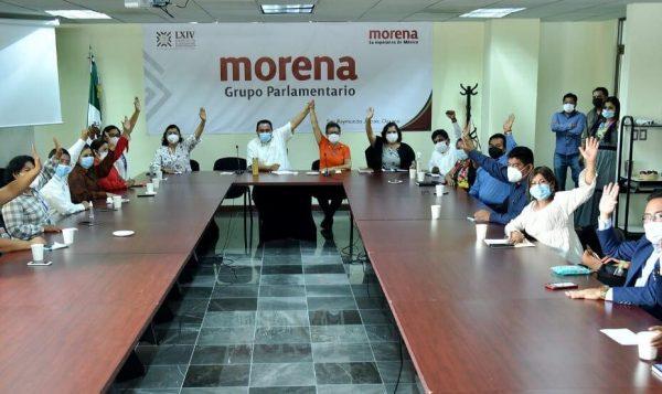 Grupo parlamentario de Morena presentará exhorto a Murat, para que destituya a titular de la Secretaría de Salud de Oaxaca