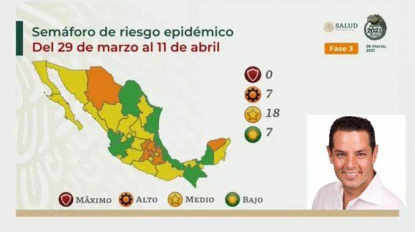 Oaxaca regresará a Semáforo amarillo, en plena Semana Santa