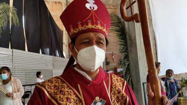 Con la fe de los católicos y medidas sanitarias, así fue el Domingo de Ramos en Tuxtepec
