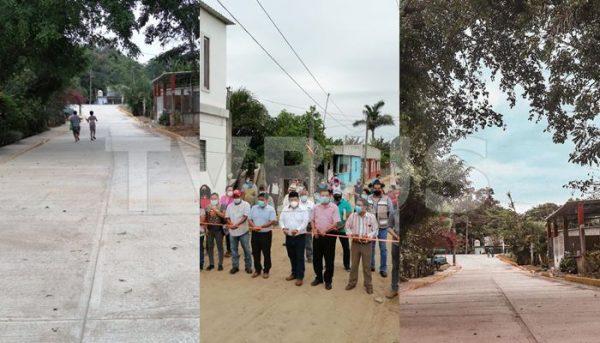 Gobierno de Tuxtepec inaugura obras por más de 2 millones de pesos
