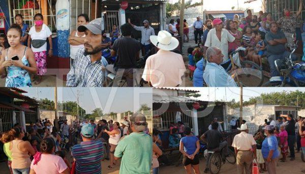 Surge conflicto en colonia de Loma Bonita, se pelean posesión del salón de usos múltiples