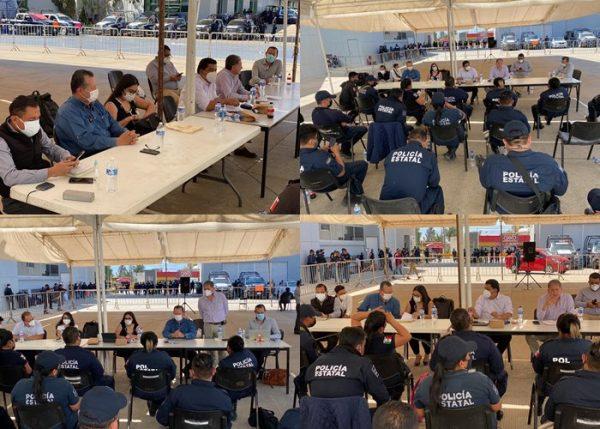 Se ha dado respuesta al 100% del pliego petitorio presentado por elementos de la policía estatal: Comisión de diálogo