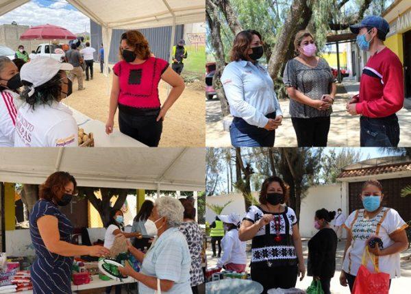 """Implementan en San Jacinto Amilpas programa """"Atención Oportuna Hasta tu Casa"""""""