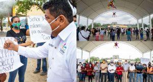 Tenemos un gobierno que nos escucha y atiende: Pueblo Nuevo Papaloapan