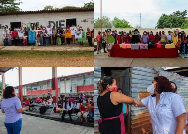 """Beneficia DIF Tuxtepec a más de 500 mujeres con el programa """"Mujeres del Papaloapan"""""""