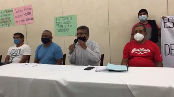 Dos agencias de Santiago Atitlán, desconocen a sus autoridades municipales
