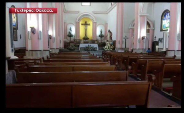 Contabilizan 3 templos religiosos vandalizados en Tuxtepec