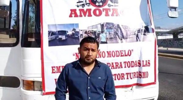 Transportistas se manifiestan en Oaxaca, exigen que cesen actos de extorsión de corporaciones