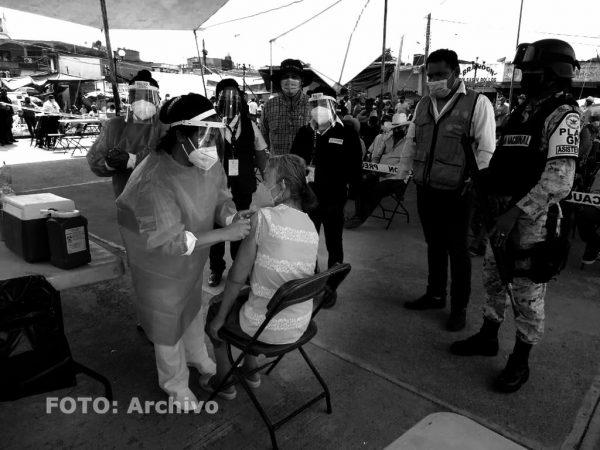 Vacunación se reprogramó para este viernes en once municipios de Oaxaca
