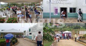 Inicia vacunación contra el Covid-19 para adultos mayores en Chiltepec y Jacatepec
