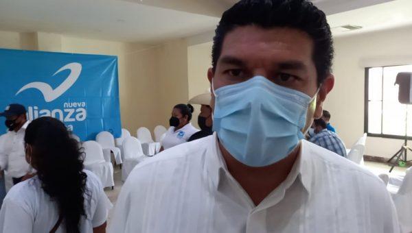 Alianza PANAL con ALCACUP suma proyectos a favor de  Tuxtepec: Pepe Villamil, delegado