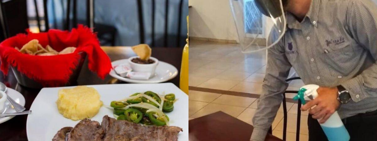 Restaurantes continuarán con medidas contra covid a pesar de cambio en semáforo epidemiológico