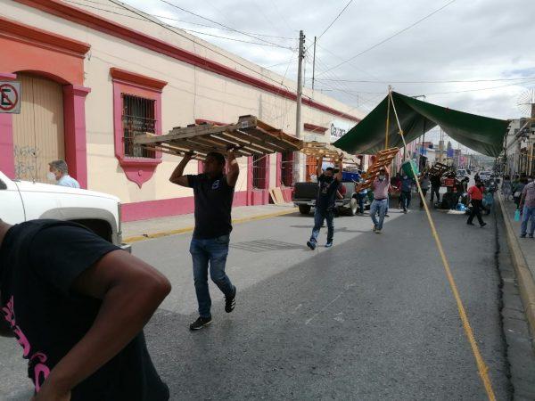 Tras 24 días de bloqueos en Oaxaca, SITSS levanta plantón