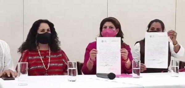 Candidata a Diputada por Fuerza por México, denuncia que grupo armado irrumpió en su arranque de campaña