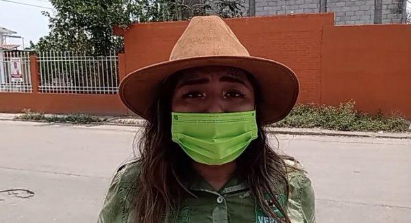 Aclara candidata del PVEM por el Distrito local 02, que IEEPCO la registró como indígena