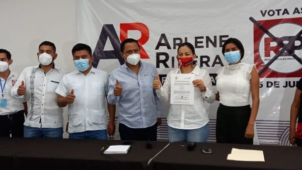 Presenta RSP a Arlene Rivera como Candidata a la Diputación Federal por el Distrito 01