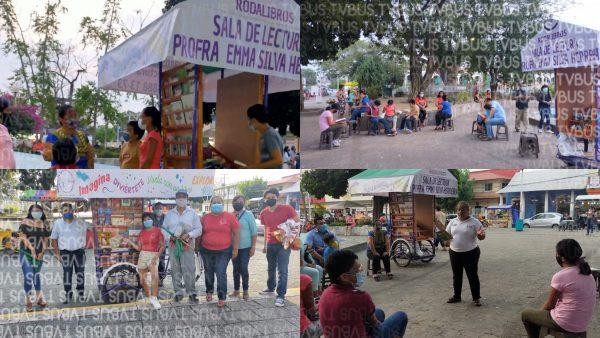 """""""Rodalibros"""", la sala móvil de lecturas en Tuxtepec para todos"""